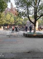 青山区红钢城青山公园广场门面出租