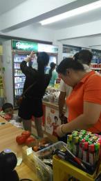 天心区成熟小区出入口190平米超市转让