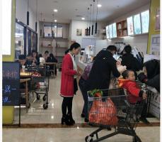 世纪华联超市出入口40㎡盈利饮品奶茶店转让