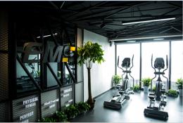 芙蓉区写字楼内400平盈利中高端健身房转让
