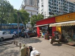 傅家坡客运站旁18平临街餐饮店转让