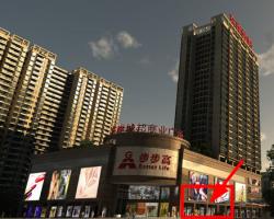 出租汽车东站步步高商场出入口旁临街133㎡旺铺