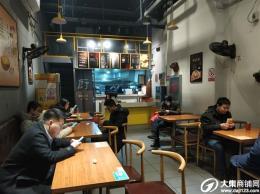 武昌区楚河汉街60平餐饮旺铺转让